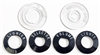 Danchuk 55-56 Bezel, plastic dash set(150 & 210)