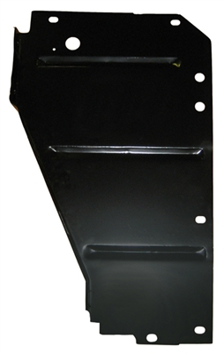 Golden Star Core Support Side Filler Panel - 1955 Chevy Drivers Side