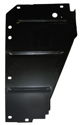 Golden Star Core Support Side Filler Panel - 1955 Chevy Passenger Side
