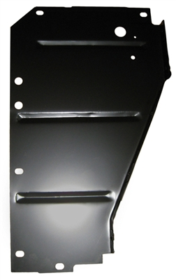 Golden Star Core Support Side Filler Panel - 1956 Chevy Passenger Side