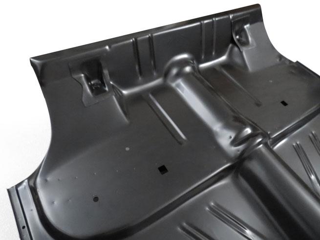 Complete floor pan trunk floor for 1955 57 chevy sedan for 1955 chevy floor pan replacement
