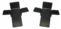 Golden Star 1955-57 Chevy Hardtop & Convertible Rear Seat Door Panel Retainer Tabs