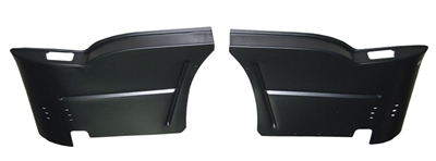 Golden Star Rear Seat Arm Rest Structure Set - 1955-57 Chevy Hardtop