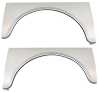 Golden Star Rear Wheel Arch Opening Panels - 1955 Chevy Gasser