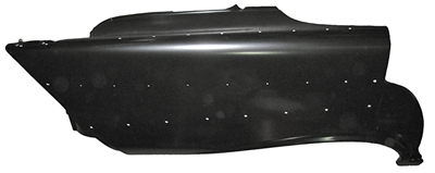 Golden Star Quarter Panel - 1957 Chevy Hardtop 4-Door Passenger Side (OS) (TF)