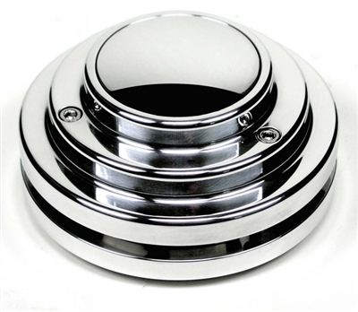 Ididit Chrome 9-Bolt Steering Wheel Adapter
