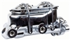 "Right Stuff Master Cylinder - 1"" Bore, 4 Wheel Disc - Chrome"
