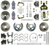 "Right Stuff 4 Wheel Disc Brake Conversion Kit for 15""+ Wheels - 2"" Drop"