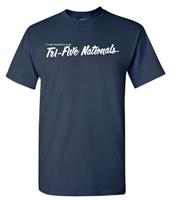 Tri-Five Nationals T-Shirt - NAVY - Small