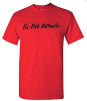 Tri-Five Nationals T-Shirt - RED - XXX-Large