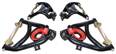 Woody's Hot Rodz 1955-57 Chevy Tubular Upper & Lower Control Arms Set (OS)