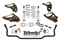 1955-57 Chevy Woody's Hot Rodz Coilover Front Suspension Package