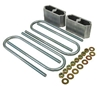 "Woody's Hot Rodz Leaf Spring Lowering Block kit - 1"" Drop"