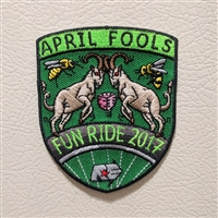 April Fools Fun Ride 2017 Patch