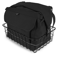 Black Basket Bag