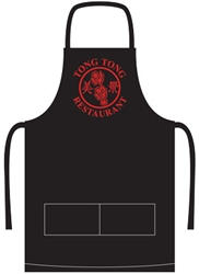 Apron with Company Logo Embroidered