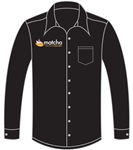 <b>Van Huesen Dress Shirt</b> with <b>Company Logo Embroidered</b>