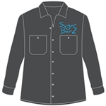 <b>Dickies Mechanic Long-Sleeve Shirt</b> with <b>Embroidered</b> Company Logo