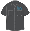 Dickies Mechanic Short-Sleeve Shirt</b> with <b>Embroidered</b> Company Logo
