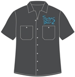 <b>Dickies Mechanic Short-Sleeve Shirt</b> with <b>Embroidered</b> Company Logo