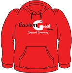 <b>Pullover Sweatshirt</b> with <b>Heat Pressed</b> Company Logo