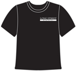 T-Shirt with Company Logo Embroidered