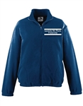 <b>Full-Zip Fleece</b> with <b>Custom Embroidery</b>