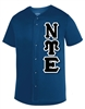 Micro Mesh Baseball Jersey</b> with 4.5-Inch Greek Letters