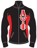 Fraternity Track Jacket with 4.5-Inch Greek Letters