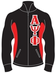 <b>Fraternity Track Jacket</b> with <b>4.5-Inch</b> Greek Letters