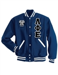 <b>Wool Jacket</b> with Greek Letters and <b>Crest</b>