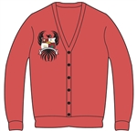 Cardigan with Sorority Crest