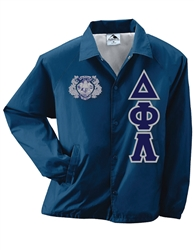 Line Jacket with 4.5-Inch Greek Letters