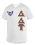 Micro Mesh Baseball Jersey with 4.5-Inch Greek Letters