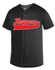 <b>Micro Mesh Baseball Jersey</b> with <b>Split Front Baseball Script</b>