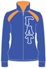 <b>Sorority Track Jacket</b> with <b>4.5-Inch</b> Greek Letters