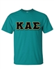 <b>Unisex Crew Neck T-Shirt</b> with <b>4.5-Inch</b> Greek Letters