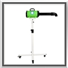 pet dog stand grooming dryer, dog dryer, pet dryer, stand hair dryer, grooming dryer, groom dryer, green