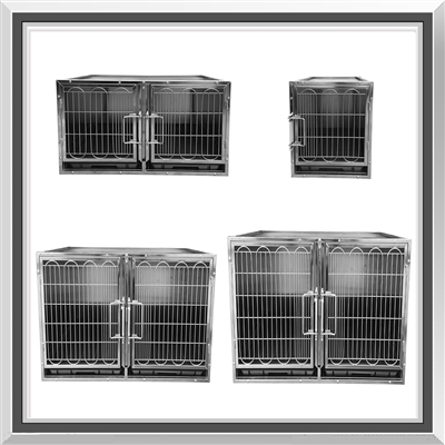stainless steel modular kennel cage, dog kennel, modular dog kennel, kennels for dogs, dog kennels, dog kenneling, multi dog kennels, kennels for dog, large dog kennel, cage dog kennel