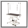 electric lifting grooming table, pet grooming table, dog grooming table, grooming table,electric lifting dog grooming table, stainless steel, non-slip, no slip, durable, x-style