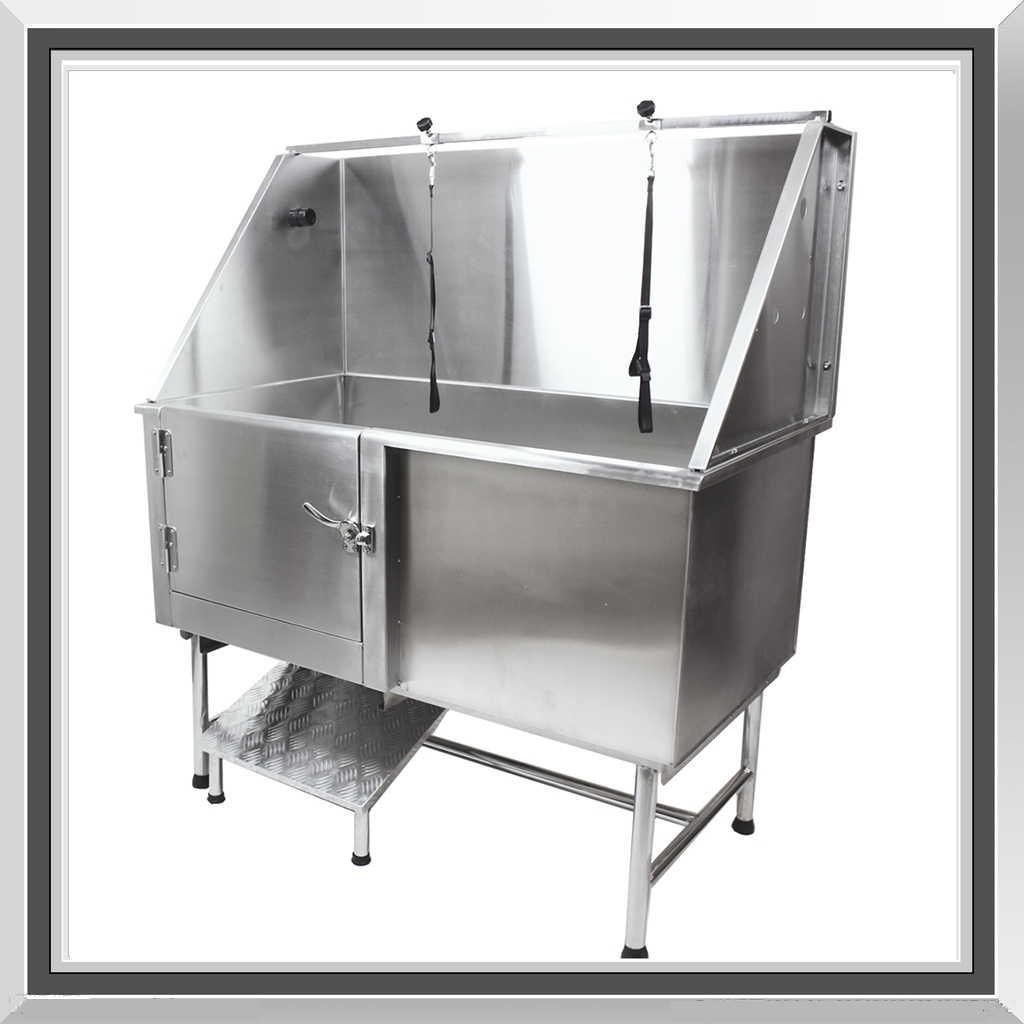 Sale large professional stainless steel dog pet grooming for A bath and a biscuit grooming salon