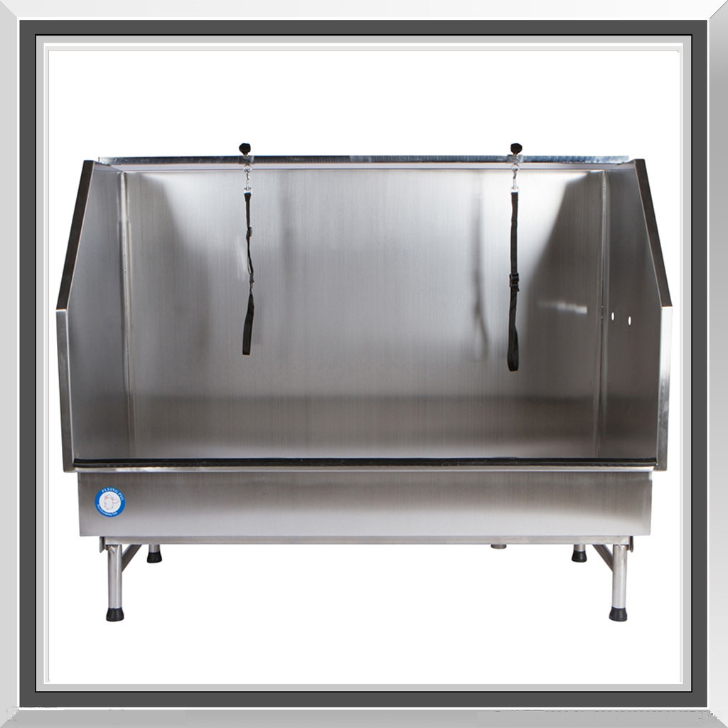 Sale Large Professional Stainless Steel Dog Pet Grooming Bath Tub With Ramp