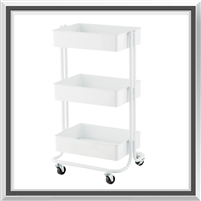 Flying Pig Tool Cart- White