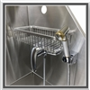 tub kit faucet, sprayer, shampoo rack, dog tub rack, dog grooming tub rack, dog tub sprayer, pet grooming tub facet