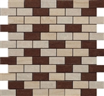 "Kaleido Mosaic 1"" x 2"" Mix Av/Bg/Ma (12"" X 12"" Sheet),Suwanee, Atlanta, Johns Creek, Buford, Duluth, Gwinnett, Alpharetta, Lilburn, Roswell,Flooring, Tile, Wood, Porcelain Tile, Ceramic Tile, Mosaic Tile, Mosaic, installation product sale, happy floors, h"