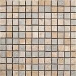 "Mosaic C-Stone 1"" x 1"" Mix 12"" X 12"" Sheet (Sand+Reef+Pearl),Suwanee, Atlanta, Johns Creek, Buford, Duluth, Gwinnett, Alpharetta, Lilburn, Roswell,Flooring, Tile, Wood, Porcelain Tile, Ceramic Tile, Mosaic Tile, Mosaic, installation product sale, happy fl"