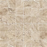 "Mosaic Antalya Beige 2"" X 2"" (12"" X 12"" Sheet) Suwanee Atlanta Johns Creek Alpharetta Georgia"