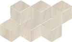 "3D Hexagon Mosaic Dolomite Beige Pol. (7"" X 12.6"") Tile SheetSuwanee, Atlanta, Johns Creek, Buford, Duluth, Gwinnett, Alpharetta, Lilburn, Roswell,Flooring, Tile, Wood, Porcelain Tile, Ceramic Tile, Mosaic Tile, Mosaic, installation product sale, happy fl"