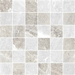 "Mosaic Flint Ice 2"" X 2"" (White-Silver Mix) 12"" X 12"" Sheet Suwanee, Atlanta, Johns Creek, Buford, Duluth, Gwinnett, Alpharetta, Lilburn, Roswell,Flooring, Tile, Wood, Porcelain Tile, Ceramic Tile, Mosaic Tile, Mosaic, installation product sale, happy flo"