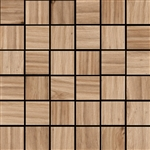 "Mosaic Cypress Natural 2"" X 2"" (12"" X 12"" Sheet) Suwanee, Atlanta, Johns Creek, Buford, Duluth, Gwinnett, Alpharetta, Lilburn, Roswell,Flooring, Tile, Wood, Porcelain Tile, Ceramic Tile, Mosaic Tile, Mosaic, installation product sale, happy floors, happy"